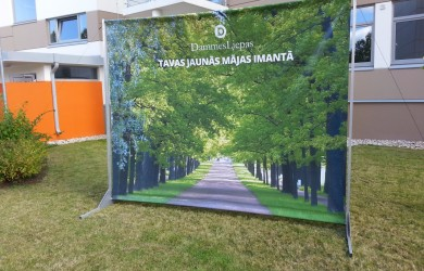 Outdoor Press Wall 3x2.4m Dammes liepas (3)