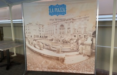 Outdoor Press Wall La piazza 2x2.4