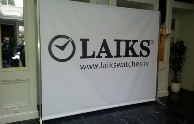 Press Wall Laiks 3x2.4m