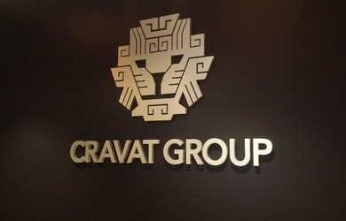 Cravat group LED logo Ceros.LV