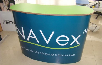 Pop Up galdins NAVEX