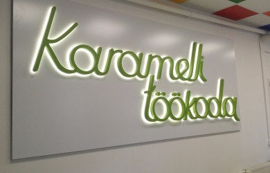 3D LED sign Carameli Tokoda 3x1 (6)