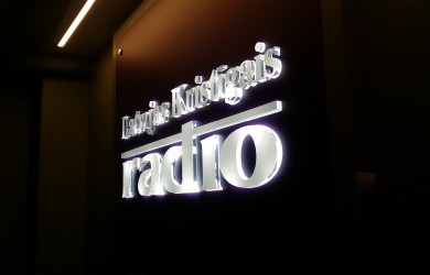 Kristigas radio_LED logotips