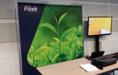 Fitek Press Wall 2x2m + TV