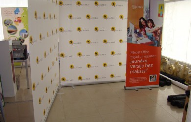 Rigas Mezi Press Wall 2x2m