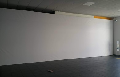 White Press Wall 11x3m